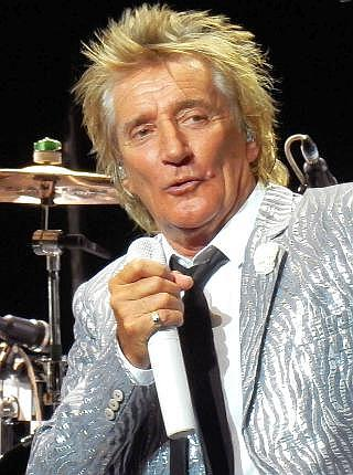 Rod Stewart during the concert of universal music festival.en the Royal Theatre of Madrid, on July 5, 2016. (Photo by Oscar Gonzalez/NurPhoto via Getty Images)